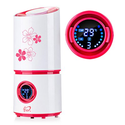 LCD Display Air Humidifier Automatic Alarm Mist Diffuser