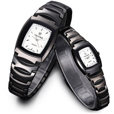 Tevise 141 002 Quartz Watch Business Wristwatch Stainless Steel Strap for Couple