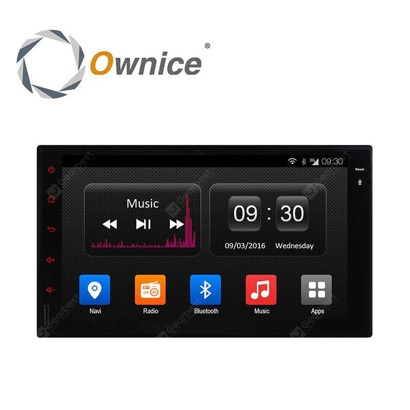 Ownice OL 7001T Android 4.4 7 inch Car GPS Media Player