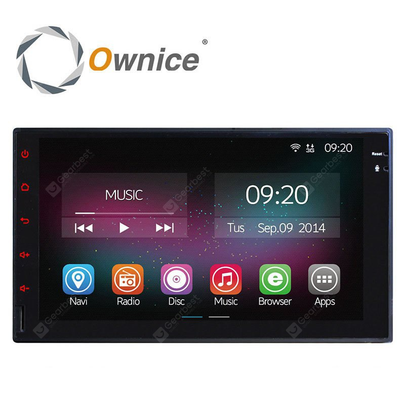 Ownice C200 OL 7001A Android 4.4.2 7.0 inch Car GPS Multi-media Player