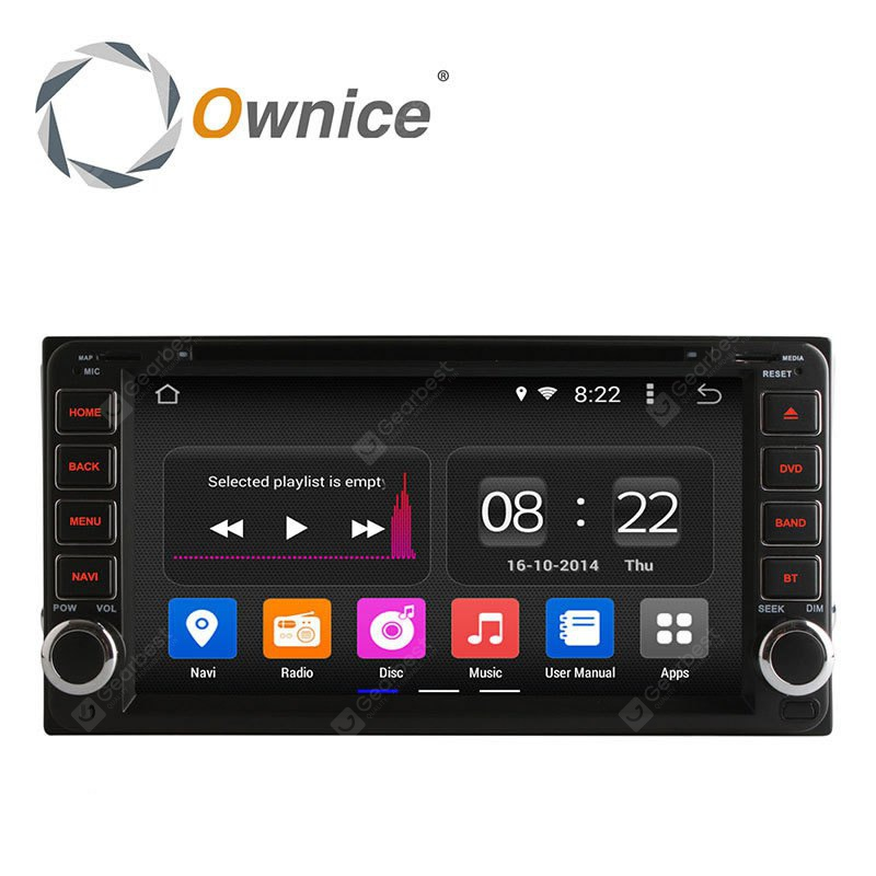Ownice C180 OL 7699B Android 4.4.2 6.95 inch Car GPS DVD Multi-media Player