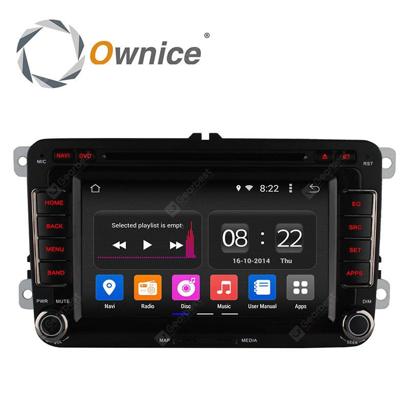 Ownice C180 OL 7991B Android 4.4.2 7.0 inch Car GPS DVD Multi-media Player