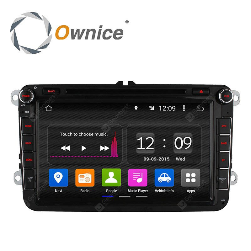 Ownice C180 OL 8992B Android 4.4.2 8.0 inch Car GPS DVD Multi-media Player