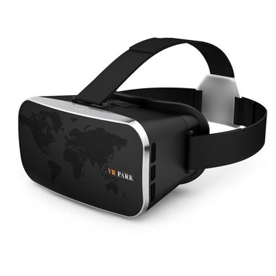 VR PARK V3 Virtual Reality 3D Video Glasses Headset with Controller