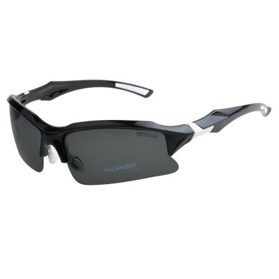 SCREW 9001 Polarized Lens Anti-UV Sunglasses Eyeswear for Outdoor Cycling Driving