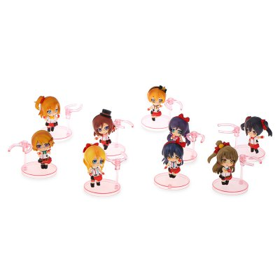 Collectible Animation Figurine Model Toy - 9pcs / set