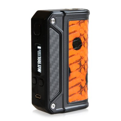 Gearbest Lost Vape Therion DNA 166W TC Box Mod for E Cigarette - DARKSALMON