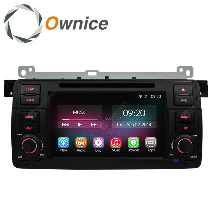 Ownice C200-OL-7956B Android 4.4.2 7.0 inch Car GPS DVD Multi-Media Player