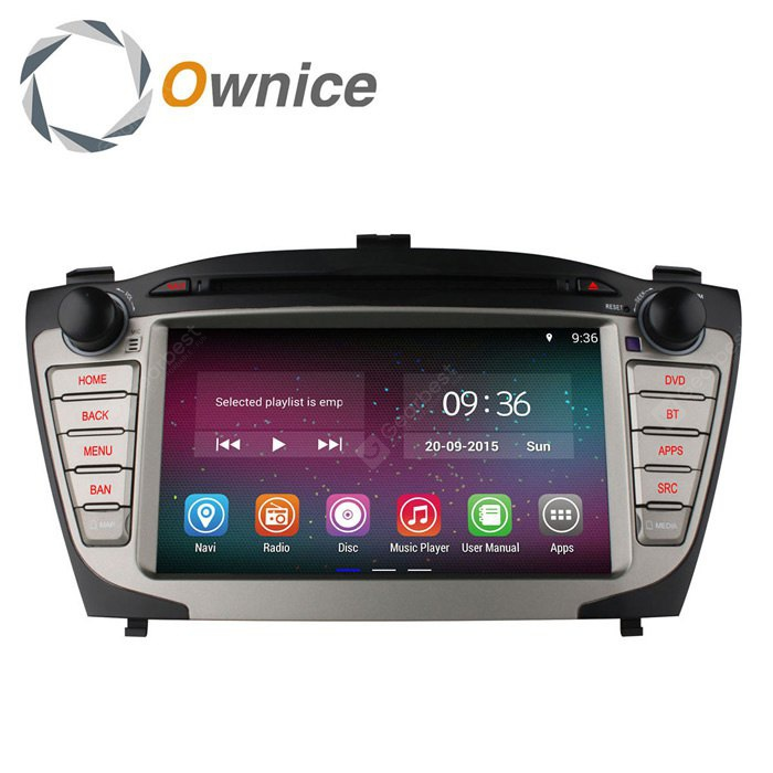 Ownice C200-OL-7703A Android 4.4.2 7.0 inch Car GPS DVD Multi-Media Player