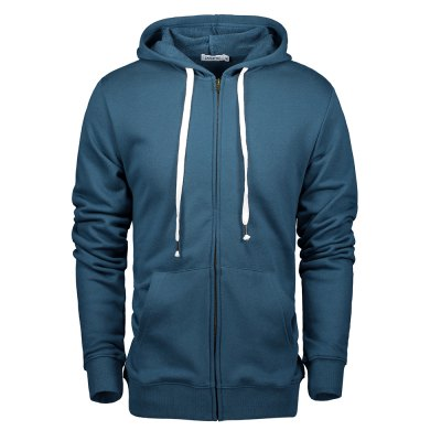 ZANSTYLE Male Zip Up Hoodie