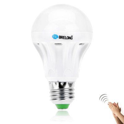 BRELONG E27 5W SMD 5730 550Lm Sound-activated LED Globe Bulb