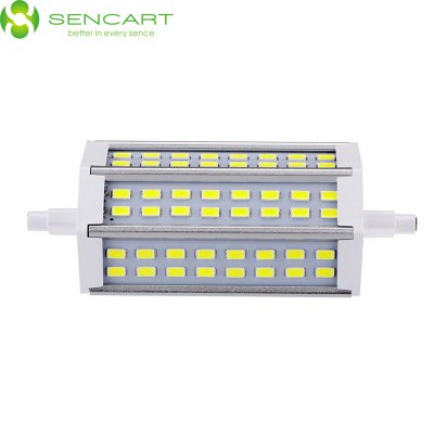 Sencart R7S J118 15W 6000K 1200LM 48 x SMD 5730 White LED Horizontal Plug Light ( AC 85 - 265V )
