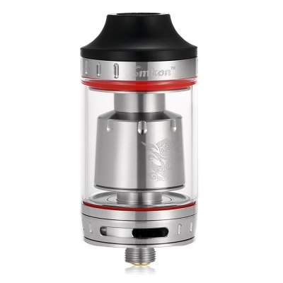 Original SMKON KUMO Atomizer with 4.5mlRebuildable Atomizers<br>Original SMKON KUMO Atomizer with 4.5ml<br><br>Brand: Smkon<br>Material: Stainless Steel, Glass<br>Model: KUMO<br>Overall Diameter: 24mm<br>Package Contents: 1 x SMKON KUMO Atomizer, 1 x Allen Key, 1 x Glass Tank, 1 x K3 Prebuilt Coil ( 50 - 260W ), 4 x Insulated Ring, 2 x O-ring, 4 x Screw<br>Package size (L x W x H): 10.50 x 7.30 x 4.20 cm / 4.13 x 2.87 x 1.65 inches<br>Package weight: 0.1670 kg<br>Product size (L x W x H): 5.30 x 2.40 x 2.40 cm / 2.09 x 0.94 x 0.94 inches<br>Product weight: 0.0460 kg<br>Rebuildable Atomizer: RBA,RDA,RTA<br>Thread: 510<br>Type: Clearomizer, Tank Atomizer, Rebuildable Tanks, Rebuildable Drippers, Rebuildable Atomizer