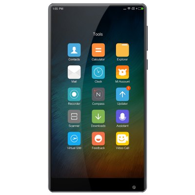 Xiaomi Mi MIX Ultimate 4G PhabletCell phones<br>Xiaomi Mi MIX Ultimate 4G Phablet<br><br>2G: GSM B2/B3/B5/B8<br>3G: WCDMA B1/B2/B5/B8<br>4G: FDD-LTE: B1/B2/B3/B4/B5/B7/B8<br>Additional Features: Calendar, Browser, Bluetooth, Alarm, 4G, 3G, Fingerprint recognition, Calculator, Fingerprint Unlocking, Proximity Sensing, People, NFC, Light Sensing, Gravity Sensing, GPS, Wi-Fi<br>Back-camera: 16MP<br>Battery Capacity (mAh): 4400mAh<br>Battery Type: Non-removable<br>Bluetooth Version: Bluetooth V4.2<br>Brand: Xiaomi<br>Camera Functions: Smile Detection, Anti Shake, Face Beauty, Face Detection, HDR, Panorama Shot, Smile Capture<br>Camera type: Dual cameras (one front one back)<br>CDMA: CDMA 1X/EVDO BC0<br>Cell Phone: 1<br>Cores: Quad Core<br>CPU: Qualcomm Snapdragon 821<br>External Memory: Not Supported<br>Front camera: 5.0MP<br>Games: Android APK<br>GPU: Adreno 530<br>Highlight: Full Ceramic Body / Edgeless Design / 18K Gold / Quick Charge 3.0<br>I/O Interface: 2 x Nano SIM Slot, Type-C<br>Language: English, Simplified / Traditional Chinese<br>Music format: AAC, OGG, MP3, WAV, MP2<br>Network type: GSM+CDMA+WCDMA+TD-SCDMA+FDD-LTE+TD-LTE<br>Optional Version: 4GB RAM + 128GB ROM / 6GB RAM + 256GB ROM<br>OS: MIUI 8 or MIUI 8 Above<br>Package size: 17.50 x 11.30 x 4.10 cm / 6.89 x 4.45 x 1.61 inches<br>Package weight: 0.4300 kg<br>Picture format: JPEG, BMP, GIF, PNG<br>Power Adapter: 1<br>Product size: 15.80 x 8.19 x 0.79 cm / 6.22 x 3.22 x 0.31 inches<br>Product weight: 0.2090 kg<br>Screen resolution: 2048 x 1080 (2K)<br>Screen size: 6.4 inch<br>Screen type: Capacitive<br>Sensor: Accelerometer,Ambient Light Sensor,E-Compass,Gravity Sensor,Gyroscope,Hall Sensor,Proximity Sensor<br>Service Provider: Unlocked<br>SIM Card Slot: Dual Standby, Dual SIM<br>SIM Card Type: Dual Nano SIM<br>SIM Needle: 1<br>TD-SCDMA: TD-SCDMA B34/B39<br>TDD/TD-LTE: TD-LTE B38/B39/B40/41<br>Type: 4G Phablet<br>USB Cable: 1<br>Video format: 1080P, 3GP, FLV, MKV, MP4, M4A<br>Video recording: 4K Video,Support 720P Video Recording,Yes<br>WIFI: 802.11a/b/g/n/ac wireless internet<br>Wireless Connectivity: CDMA