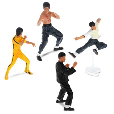 Collectible Animation Figurine Model - 4pcs / set