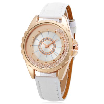 Quartz Watch with Alloy Dial