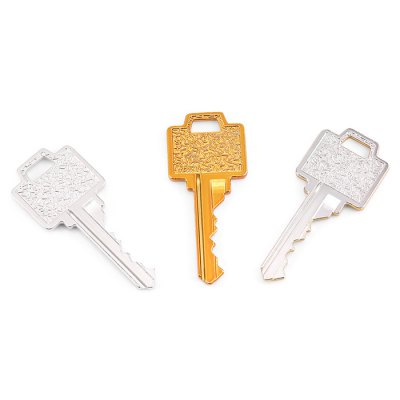 Magic Key Metal Magician Performance ToolMagic Tricks<br>Magic Key Metal Magician Performance Tool<br><br>Appliable Crowd: Unisex<br>Materials: Metal<br>Nature: Other<br>Package Contents: 3 x Key, 1 x English CD<br>Package size: 19.00 x 13.50 x 1.50 cm / 7.48 x 5.31 x 0.59 inches<br>Package weight: 0.1280 kg<br>Product weight: 0.1110 kg<br>Specification: Chinese