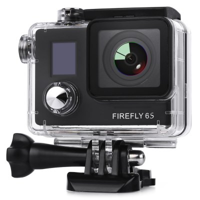 Hawkeye Firefly 6S 4K WiFi Sport HD DV CameraAction Cameras<br>Hawkeye Firefly 6S 4K WiFi Sport HD DV Camera<br><br>Aerial Photography: Yes<br>Anti-shake: Yes<br>Auto Focusing: No<br>Auto-Power On : Yes<br>Battery Type: Removable<br>Brand: Hawkeye<br>Camera Pixel : 16.0 megapixels<br>Camera Timer: No<br>Charge way: USB charge by PC<br>Chipset: Novatek 96660<br>Chipset Name: Novatek<br>Class Rating Requirements: Class 10 or Above<br>Decode Format: H.264<br>Delay Shutdown : Yes<br>Features: Wireless<br>FPV Output: Yes<br>Function: Auto-Power On, Anti-Shake<br>HDMI Output: Yes<br>HDR: Yes<br>Image Format : JPG<br>Interface Type: Micro HDMI, Micro USB, TF Card Slot<br>Language: English<br>Loop-cycle Recording : Yes<br>Max External Card Supported: TF 64G (not included)<br>Microphone: Built-in<br>Model: FIREFLY 6S<br>Night vision : No<br>Package Contents: 1 x FIREFLY 6S 4K WiFi Sport HD DV Camera, 1 x Waterproof Case, 1 x 1600mAh Battery, 1 x Lens Cover, 1 x J-Shaped Mount, 1 x Long Connector + Screw, 2 x Short Connector + Screw, 1 x Bike Handlebar Sea<br>Package size (L x W x H): 15.00 x 10.00 x 27.00 cm / 5.91 x 3.94 x 10.63 inches<br>Package weight: 0.6500 kg<br>Product size (L x W x H): 5.90 x 4.10 x 2.10 cm / 2.32 x 1.61 x 0.83 inches<br>Product weight: 0.0750 kg<br>Scene: Auto<br>Screen resolution: 64 x 48<br>Screen size: 0.65inch<br>Screen type: LCD<br>Time lapse: Yes<br>Time Stamp: Yes<br>Type: Sports Camera<br>Video format: MOV<br>Video Output : HDMI<br>Video Resolution: 1080P (1920 x 1080),2K(2560 x 1440)30fps,4K (3840 x 2160),720P (1280 x 720),VGA (640 x 480)<br>Video System: NTSC,PAL<br>Waterproof: Yes<br>Waterproof Rating : 30m underwater with waterproof case<br>WDR: Yes<br>White Balance Mode: Auto<br>Wide Angle: 140 degree wide angle<br>WIFI: Yes<br>WiFi Function: Remote Control<br>Working Time: 80 minutes (at 1080P 60fps and 4K 24fps)