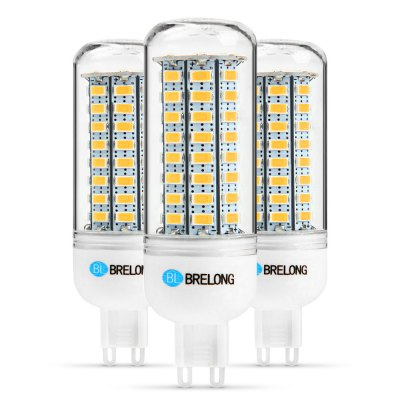 3PCS BRELONG G9 12W 1200Lm SMD 5730 LED Corn Light