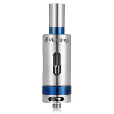 Original Threx MeRing SUB Ohm Tank AtomizerClearomizers<br>Original Threx MeRing SUB Ohm Tank Atomizer<br><br>Material: Glass, Stainless Steel<br>Package Contents: 1 x Threx MeRing SUB Ohm Tank Atomizer, 1 x Glass Tank, 2 x Coil Head, 1 x English User Manual<br>Package size (L x W x H): 7.00 x 10.00 x 3.00 cm / 2.76 x 3.94 x 1.18 inches<br>Package weight: 0.1640 kg<br>Product size (L x W x H): 2.20 x 2.20 x 7.80 cm / 0.87 x 0.87 x 3.07 inches<br>Product weight: 0.0760 kg<br>Tank Capacity: 4.0ml<br>Thread: 510<br>Type: Tank Atomizer, Clearomizer