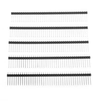 5PCS Breakaway Straight Male Header for PCB BoardDIY Parts &amp; Components<br>5PCS Breakaway Straight Male Header for PCB Board<br><br>Package Contents: 5 x 2.54mm Pitch Female Header<br>Package Size(L x W x H): 15.00 x 3.00 x 3.00 cm / 5.91 x 1.18 x 1.18 inches<br>Package weight: 0.0350 kg<br>Product Size(L x W x H): 10.00 x 1.70 x 0.20 cm / 3.94 x 0.67 x 0.08 inches<br>Product weight: 0.0190 kg<br>Type: Other