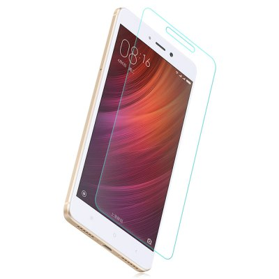 Luanke Screen Protector FilmScreen Protectors<br>Luanke Screen Protector Film<br><br>Brand: Luanke<br>Compatible Model: Redmi Note 4X<br>Features: Ultra thin, High-definition, High Transparency, High sensitivity, Anti-oil, Anti scratch, Anti fingerprint<br>Mainly Compatible with: Xiaomi<br>Material: Tempered Glass<br>Package Contents: 1 x Tempered Glass Film, 1 x Dust Remover, 1 x Wet Wipes, 1 x Dry Wipes<br>Package size (L x W x H): 20.00 x 13.00 x 2.00 cm / 7.87 x 5.12 x 0.79 inches<br>Package weight: 0.1150 kg<br>Product weight: 0.0100 kg<br>Surface Hardness: 9H<br>Thickness: 0.26mm<br>Type: Screen Protector