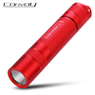 Convoy S2+ 1000LM Cree XM L2 T6  -  4C 3 / 5 Modes LED Flashlight Torch ( 1 x 18650 Battery )