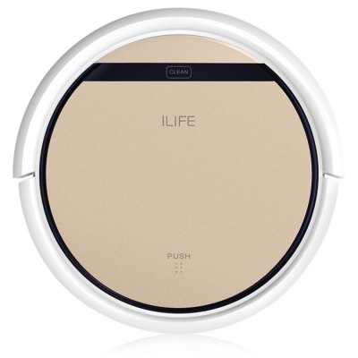ILIFE V5S Pro Intelligent Robotic Vacuum CleanerRobot Vacuum<br>ILIFE V5S Pro Intelligent Robotic Vacuum Cleaner<br><br>Battery Capacity: 2600mAh<br>Battery Type: Lithium-ion battery<br>Brand: ILIFE<br>Charging Time: 280min<br>Cleaner Types: Vacuum Cleaner<br>Cleaning Area (sq.m.): 150 - 180<br>Dust Box Capacity: 0.3L<br>Feature: Self Charging<br>Floor Types: Wood Floor<br>Function: Suction, Mopping, Wet and Dry, Vacuum, Sweep<br>Input Voltage (V)  : 11.1V<br>Inrush Starting Current: 0.6A<br>LCD Display: Yes<br>Noise (dB): Less Than 50<br>Package Contents: 1 x Vacuum Cleaner, 1 x Filter, 1 x Charging Base, 1 x Remote Controller, 1 x 100 - 240V Adapter, 1 x Brush, 2 x Side Brush, 1 x Mop, 1 x Water Tank, 1 x AAA Battery, 1 x English User Manual, 1 x Dust<br>Package size (L x W x H): 45.00 x 40.00 x 15.00 cm / 17.72 x 15.75 x 5.91 inches<br>Package weight: 4.8000 kg<br>Power (W): 20<br>Product size (L x W x H): 30.00 x 30.00 x 7.00 cm / 11.81 x 11.81 x 2.76 inches<br>Product weight: 2.0500 kg<br>Remote Control: Yes<br>Self Recharging: Yes<br>Suction (pa): 850<br>Working Time: 120 - 150min
