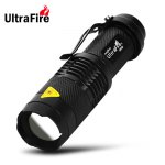 Ultrafire UK - 68 Linterna LED con Zoom