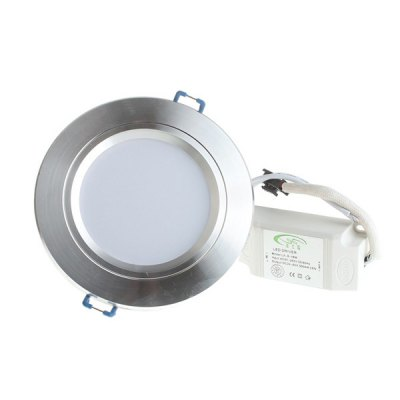 LUO 10W 20 SMD 5730 800Lm 3000 - 6000K 85 - 265V Dimmable Frosted LED Ceiling Panel Lamp