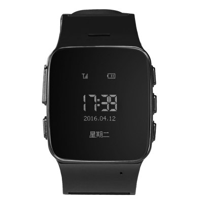 Deest D99 Elder Smartwatch PhoneSmart Watch Phone<br>Deest D99 Elder Smartwatch Phone<br><br>Additional Features: Alarm, 2G, Notification, Sound Recorder, Waterproof<br>Battery: 400mAh Built-in<br>Bluetooth Version: No<br>Brand: Deest<br>Camera type: No camera<br>Cell Phone: 1<br>Certificate: CE<br>Compatible OS: IOS, Android<br>CPU: MTK6261<br>External Memory: Not Supported<br>Frequency: GSM850/900/1800/1900MHz<br>Functions: Message, Pedometer<br>GPS: Yes<br>Languages: Polish, Vietnamese, Turkish, Arabic, Norwegian, German, French, Spanish, Portuguese, Italian, Rassian, Chinese<br>Micro USB Slot: Yes<br>Network type: GSM<br>Package size: 9.20 x 9.20 x 9.20 cm / 3.62 x 3.62 x 3.62 inches<br>Package weight: 0.2100 kg<br>Product size: 24.50 x 3.10 x 1.20 cm / 9.65 x 1.22 x 0.47 inches<br>Product weight: 0.0430 kg<br>RAM: 32MB<br>ROM: 32MB<br>Screen type: OLED<br>Screw: 4<br>Screwdriver: 1<br>SIM Card Slot: Single SIM(Micro SIM slot)<br>Speaker: Supported<br>Type: Watch Phone<br>USB Cable: 1<br>User Manual: 1<br>Wireless Connectivity: GPS, GSM