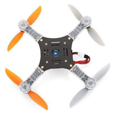 Super - X V2 125mm Mini Brushless RC Racing Drone - BNFBrushless FPV Racer<br>Super - X V2 125mm Mini Brushless RC Racing Drone - BNF<br><br>Battery (mAh): 300mAh<br>Battery Coulomb: 20C<br>Charging Time.: 30 minutes<br>CW / CCW: CCW,CW<br>Flying Time: 8~9mins<br>KV: 4000<br>Motor Type: Brushless Motor<br>No. of Cells: 2S<br>Package Contents: 1 x Drone, 1 x 7.4V 300mAh 20C LiPo Battery, 8 x Propeller<br>Package size (L x W x H): 15.00 x 12.60 x 5.30 cm / 5.91 x 4.96 x 2.09 inches<br>Package weight: 0.1490 kg<br>Product size (L x W x H): 11.00 x 11.00 x 3.50 cm / 4.33 x 4.33 x 1.38 inches<br>Product weight: 0.0750 kg<br>Type: Frame Kit<br>Version: BNF