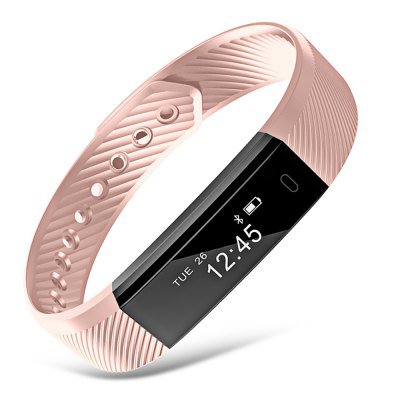 ID115 Bluetooth Smart WristbandSmart Watches<br>ID115 Bluetooth Smart Wristband<br><br>Alert type: Vibration<br>Anti-lost: Yes<br>Available Color: Black,Deep Blue,Marine Green,Shallow Pink,Violet Rose<br>Band material: TPE<br>Band size: 23.00 x 1.50 cm / 9.06 x 0.59 inches<br>Battery  Capacity: 50mAh<br>Bluetooth calling: Caller ID dispay,Callers name display,Phone call reminder<br>Bluetooth Version: Bluetooth 4.0<br>Built-in chip type: NRF51822<br>Case material: ABS<br>Charging Time: About 2hours<br>Compatability: Android 4.4 and iOS 7.1 or above<br>Compatible OS: Android, IOS<br>Dial size: 1.50 x 1.00 x 1.00 cm / 0.59 x 0.39 x 0.39 inches<br>Find phone: Yes<br>Health tracker: Pedometer,Sedentary reminder,Sleep monitor<br>IP rating: IP67<br>Language: English,Simplified Chinese<br>Messaging: Message reminder<br>Notification: Yes<br>Operating mode: Touch Screen<br>Other Function: Alarm<br>Package Contents: 1 x ID115 Smart Wristband, 1 x English Manual<br>Package size (L x W x H): 16.80 x 8.60 x 3.00 cm / 6.61 x 3.39 x 1.18 inches<br>Package weight: 0.0720 kg<br>People: Female table,Male table<br>Product size (L x W x H): 23.00 x 1.50 x 1.00 cm / 9.06 x 0.59 x 0.39 inches<br>Product weight: 0.0180 kg<br>RAM: 16K<br>Remote control function: Remote Camera<br>ROM: 256K<br>Screen: OLED<br>Screen resolution: 96 x 32<br>Screen size: 0.86 inch<br>Shape of the dial: Rectangle<br>Standby time: 10 days<br>Type of battery: Li-polymer<br>Waterproof: Yes
