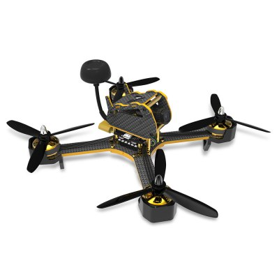 AWESOME TS - 195 195mm FPV Racing Drone DIY Kit - PNPBrushless FPV Racer<br>AWESOME TS - 195 195mm FPV Racing Drone DIY Kit - PNP<br><br>Brand: AWESOME<br>Configuration: 12N 14P<br>Continuous Current: 20A<br>CW / CCW: CCW,CW<br>Firmware: BLHeli-S<br>Flight Controller Type: F3<br>KV: 2600<br>Maximum Thrust: 440g / piece<br>Model: 2205<br>Motor Type: Brushless Motor<br>No. of Cells: 2 - 4S LiPo<br>Package Contents: 4 x Flat Arm, 4 x Curved Arm, 1 x Body Frame, 4 x Motor, 4 x Motor Protective Frame, 1 x Flight Controller, 1 x 4-in-1 BLHeli - S 20A ESC, 1 x FPV Camera, 1 x Antenna, 8 x 5045 Tri-blade Propeller, 1<br>Package size (L x W x H): 22.50 x 19.00 x 5.50 cm / 8.86 x 7.48 x 2.17 inches<br>Package weight: 0.5410 kg<br>Product size (L x W x H): 22.50 x 22.50 x 10.00 cm / 8.86 x 8.86 x 3.94 inches<br>Product weight: 0.2500 kg<br>Sensor: CCD<br>Type: Frame Kit<br>Version: PNP<br>Video Resolution: 800TVL ( horizontal resolution )<br>Video Standards: PAL