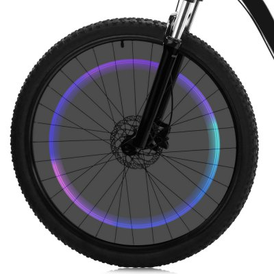 Colorful Bicycle Valve Cap Light