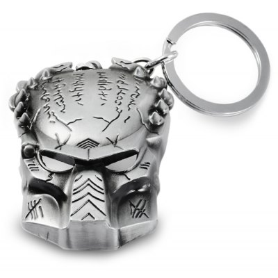 AVT Allen Vs Predator Mask Style Metal Key Chain