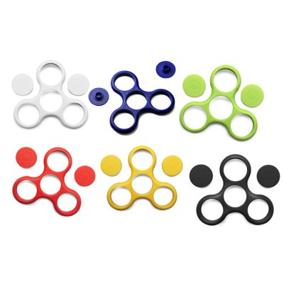 Abs plastic frame accessory for triangle finger gyro...