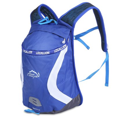 LOCAL LION 526 Cycling BagBackpacks<br>LOCAL LION 526 Cycling Bag<br><br>Bag Capacity: 15L<br>Brand: LOCAL LION<br>Capacity: 11 - 20L<br>Features: Water Resistance, Ultra Light, Reflective Strap<br>For: Traveling, Cycling, Climbing<br>Material: Polyester<br>Package Contents: 1 x LOCAL LION 526 Cycling Backpack<br>Package size (L x W x H): 26.00 x 5.00 x 40.00 cm / 10.24 x 1.97 x 15.75 inches<br>Package weight: 0.3150 kg<br>Product size (L x W x H): 25.00 x 18.00 x 39.00 cm / 9.84 x 7.09 x 15.35 inches<br>Product weight: 0.2750 kg<br>Strap Length: 45 - 79cm<br>Type: Backpack