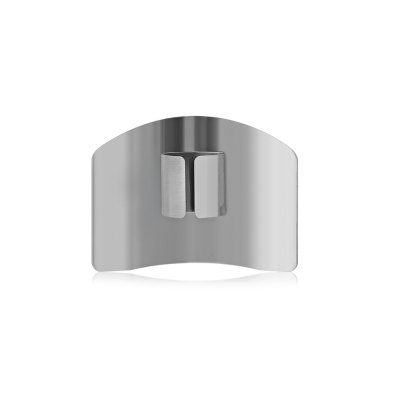 Stainless Steel Finger Guard ProtectorOther Cooking Tools<br>Stainless Steel Finger Guard Protector<br><br>Material: Stainless Steel<br>Package Contents: 1 x Finger Guard<br>Package size (L x W x H): 10.00 x 13.20 x 4.00 cm / 3.94 x 5.2 x 1.57 inches<br>Package weight: 0.0450 kg<br>Product size (L x W x H): 6.40 x 4.60 x 1.40 cm / 2.52 x 1.81 x 0.55 inches<br>Product weight: 0.0280 kg<br>Type: Other Kitchen Accessories