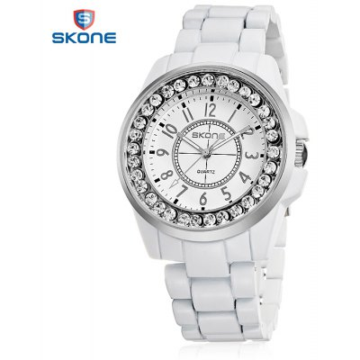Skone 7218L Lover Quartz Watch with Stainless Steel Band