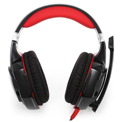 KOTION EACH G2000 Stereo Gaming HeadsetEarbud Headphones<br>KOTION EACH G2000 Stereo Gaming Headset<br><br>Application: Computer<br>Brand: KOTION EACH<br>Cable Length (m): 2.2m<br>Color: Red<br>Compatible with: Computer<br>Connecting interface: USB, 3.5mm<br>Connectivity: Wired<br>Driver unit: 50mm<br>Frequency response: 20-20000Hz<br>Function: Voice control, Sweatproof, Noise Cancelling, Microphone<br>Impedance: 32ohms<br>Language: No<br>Material: Metal, ABS<br>Model: G2000<br>Package Contents: 1 x KOTION EACH G2000 Stereo Gaming Headset, 1 x Bilingual Manual ( English, Chinese )<br>Package size (L x W x H): 20.50 x 11.50 x 22.00 cm / 8.07 x 4.53 x 8.66 inches<br>Package weight: 0.5380 kg<br>Product size (L x W x H): 18.50 x 10.50 x 20.50 cm / 7.28 x 4.13 x 8.07 inches<br>Product weight: 0.3850 kg<br>Sensitivity: 114dB ± 3dB<br>Wearing type: Headband