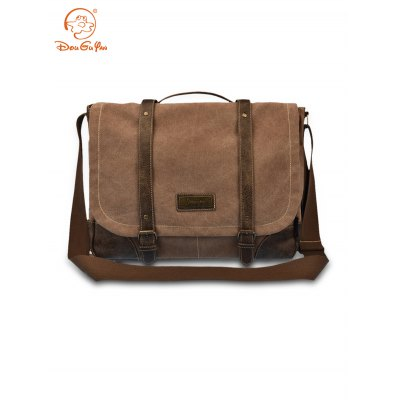 Douguyan Male 14.5L Sling Bag Leisure 14 inch Laptop Pack
