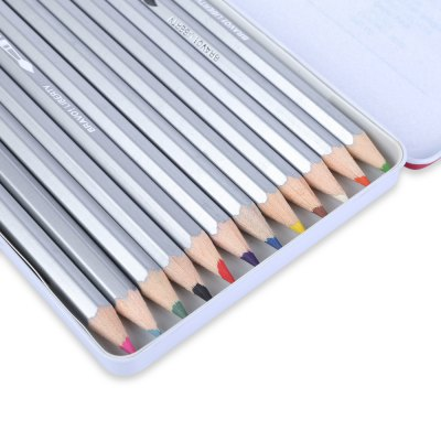Liberty 12pcs colorful water color pencil painting pen...