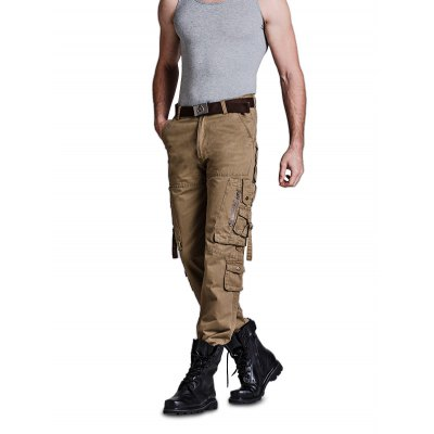 Male Loose Long Cargo Pants Colored Jeans with PocketsMens Pants<br>Male Loose Long Cargo Pants Colored Jeans with Pockets<br><br>Material: Cotton<br>Package Contents: 1 x Male Pants<br>Package size: 40.00 x 8.00 x 20.00 cm / 15.75 x 3.15 x 7.87 inches<br>Package weight: 0.4200 kg<br>Product weight: 0.3500 kg