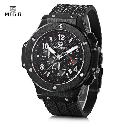 MEGIR 3002G Date Function Male Quartz Watch
