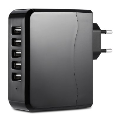 FULLPOWER 6.8A 5 USB Travel Power Charger
