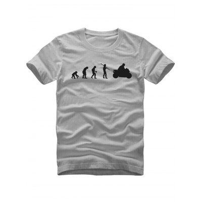 Figure Print Clever T Shirts
