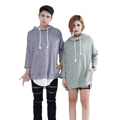 Pullover Knitted Couple Hoodies