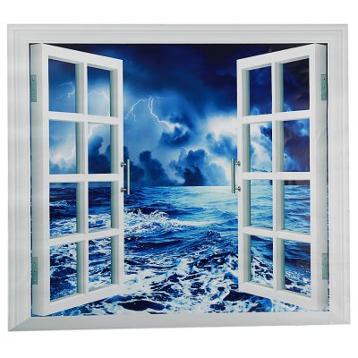 CH005 3D False Window Removable Wall Sticker