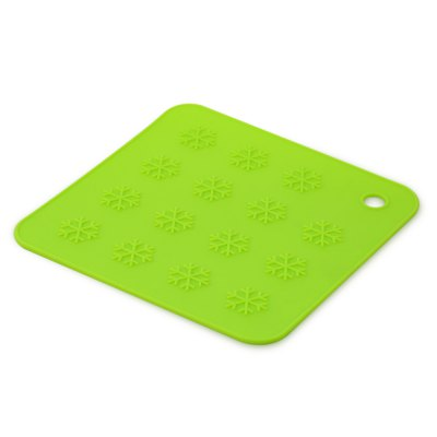 Snowflake Silicone Heat Resistant Cup Bowl Pad